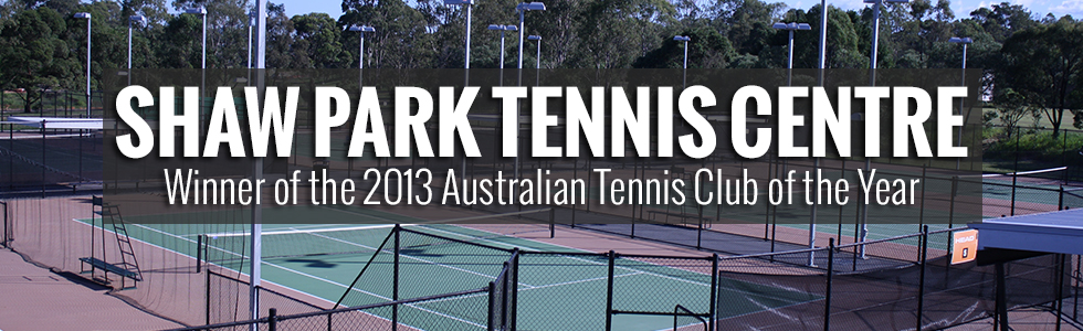 Welcome to Shaw Park Tennis Centre - the home of tennis in Brisbane