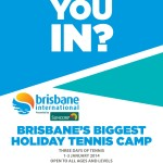 Bris Int Holiday Tennis Clinic