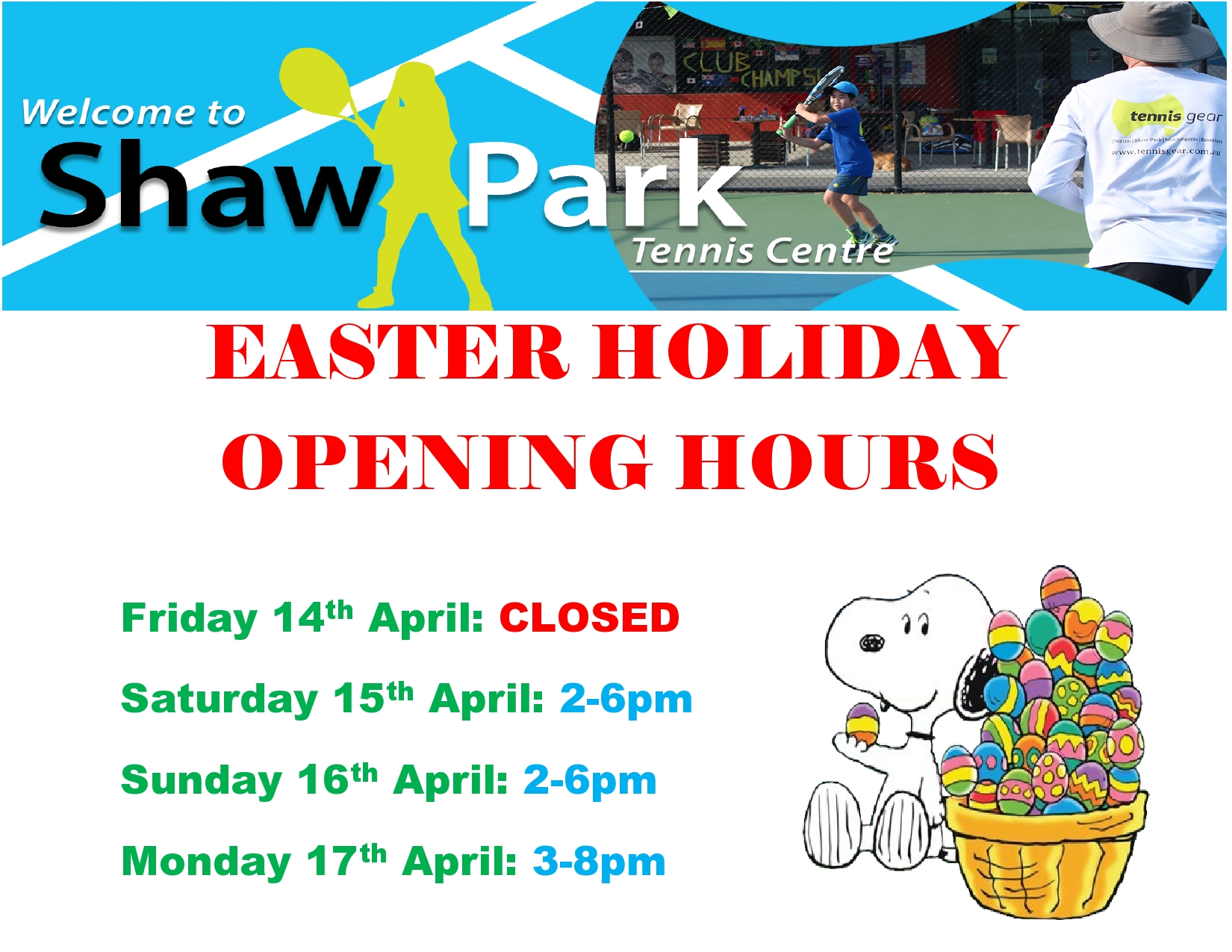 Easter Holidays Opening Hours 2017-page0001